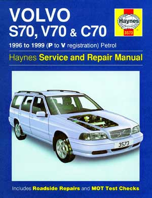 99 1999 Volvo S80 owners manual