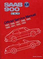 Saab Official Service Repair Workshop Manual 900 16 Valve 1985-1993 Bentley Book